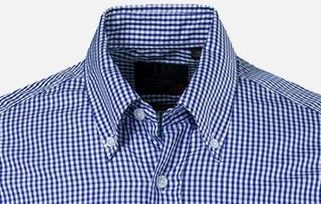 Hemd von JP1880 mit einem Button-Down-Kragen