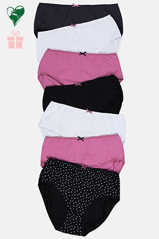 7 Pack of Stretch Cotton Panties