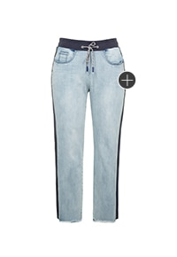 Boyfriend-Jeans, Rippbund