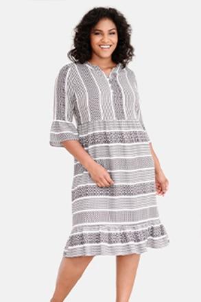 Kleid, Musterstreifen