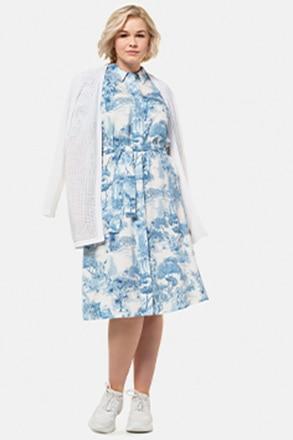 Kleid, Hemdblusenform