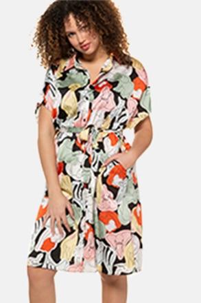 Hemdblusenkleid, Tier-Muster