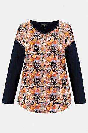 T-shirt V, oversize
