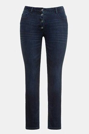 Jeans Sarah, Knopfleiste