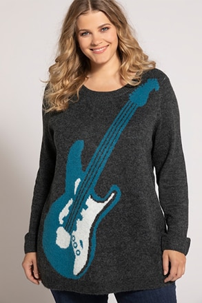 Pullover, Gitarrenmotiv