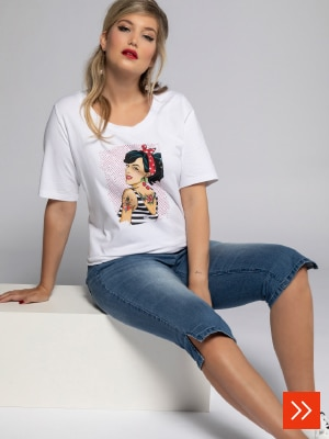 T-Shirt Rockabilly-Girl
