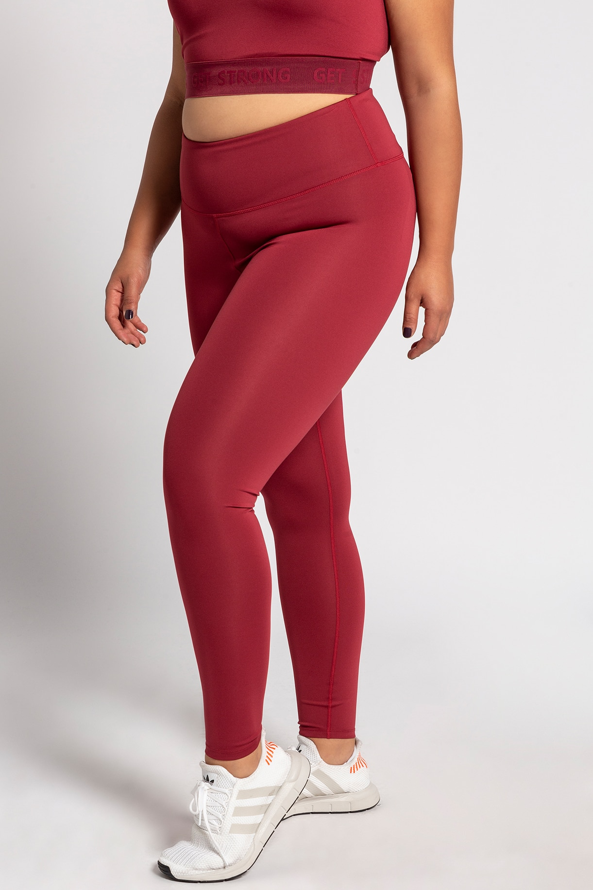 sport tights, chianti