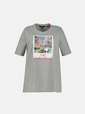 T-shirt, motif de Snoopy à Venise