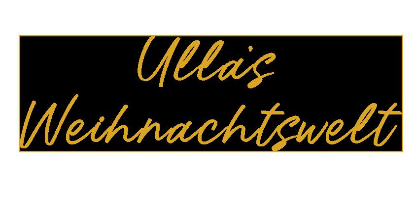 Ulla's Weihnachtswelt 2020