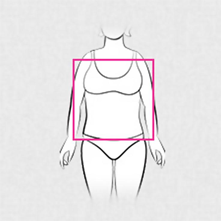 Illustration eines Körpers mit der Form eines Rechtecks/einer Gerade