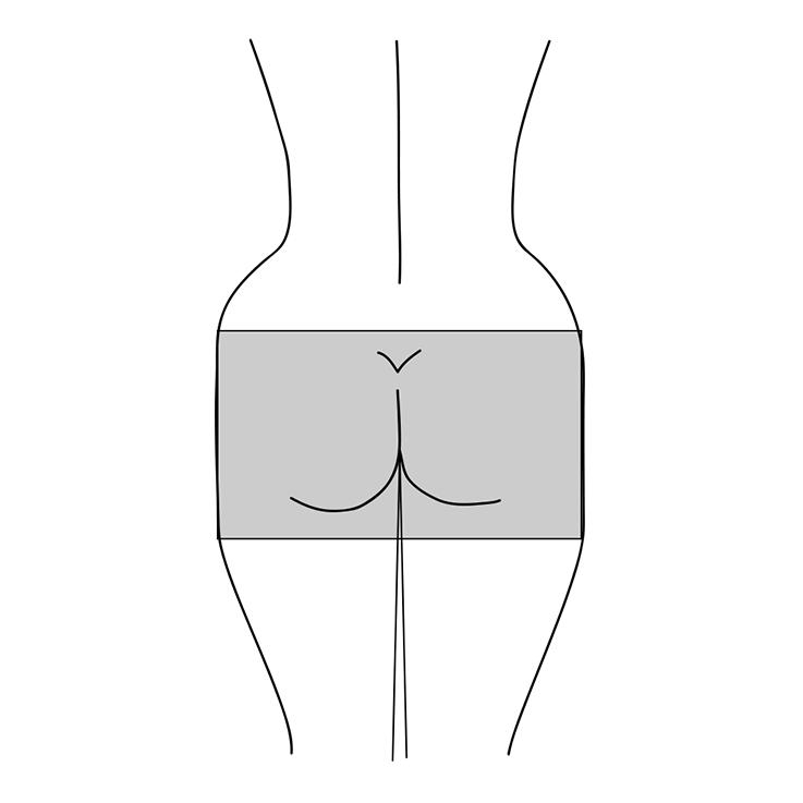 Illustration eine quadratischen Po-Form
