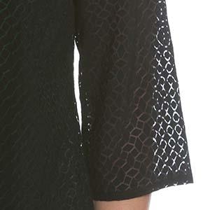 Beispiel für ein Ausbrenner-Muster an einem Ulla Popken Kleidungsstück