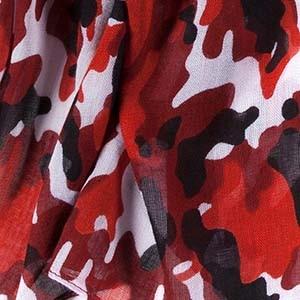 Camouflage-Muster eines Ulla Popken Kleidungssstück