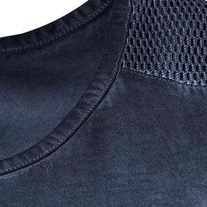 Beispiel eines Cold Dyed-Effekts an einem Kleidungsstück von Ulla Popken