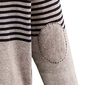 Ellenbogenpatch an einem Kleidungsstück von Ulla Popken