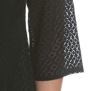 Beispiel für Flammware an einem Kleidungsstück von Ulla Popken