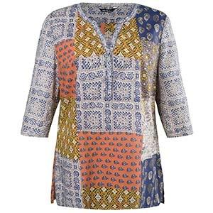 Kleidungsstück von Ulla Popken mit Patchwork