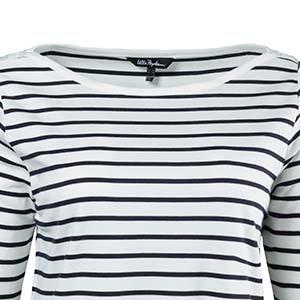 Beispiel für einen U-Boot-Ausschnitt an einem Kleidungsstück von Ulla Popken