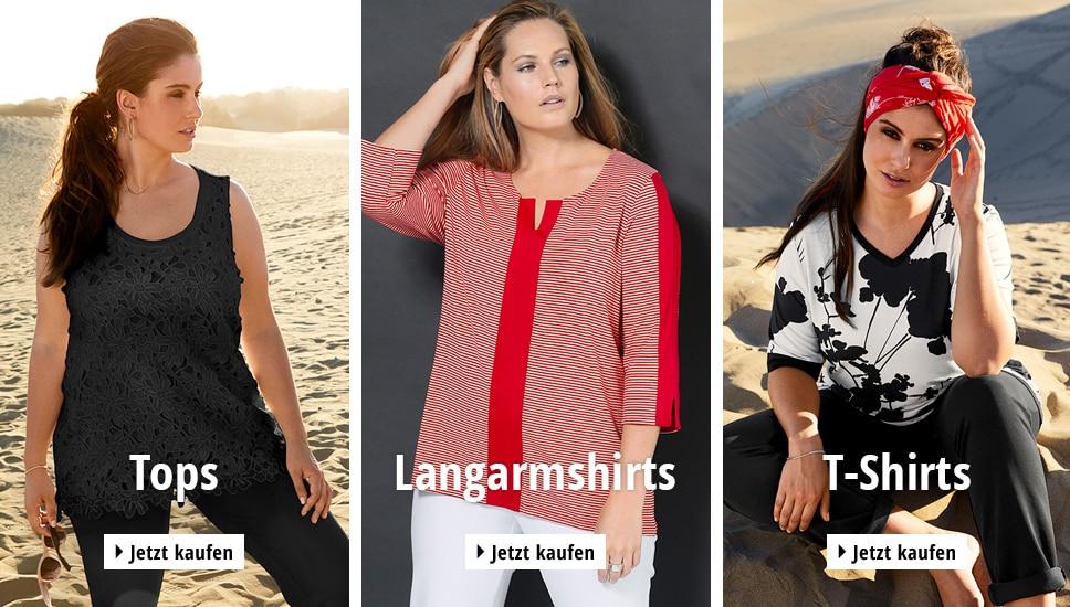 Mode in großen Größen kaufen & Deine Kurven stylen   Ulla Popken