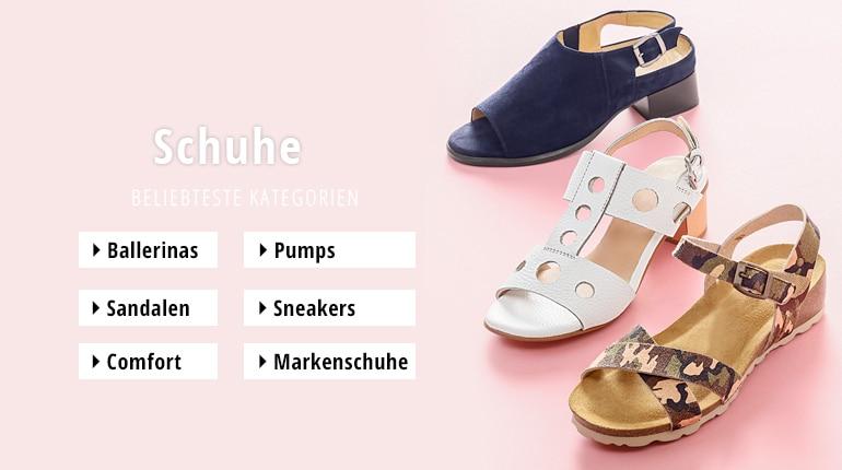 10702de0d15dc2 Schuhe in Übergrößen für Damen