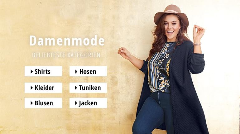 dd424f5f7074b7 Mollige Mode online bestellen | Ulla Popken