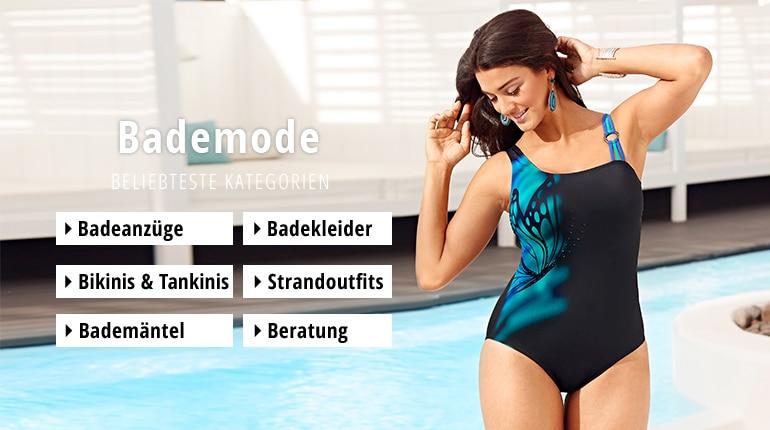 brand new a4ad0 a68d5 Bademode für mollige Frauen | Ulla Popken