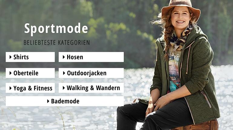 Mit Sportbekleidung in grossen Grössen aktiv sein | Ulla Popken
