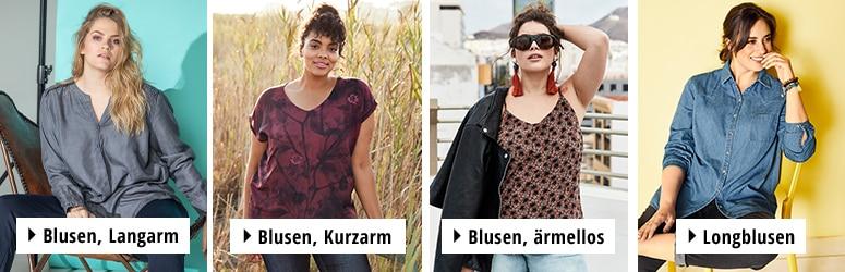 low priced bad0a 6191a Hübsche Blusen für große Größen | Ulla Popken