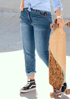 Jeans Sammy mit schmalem Bein