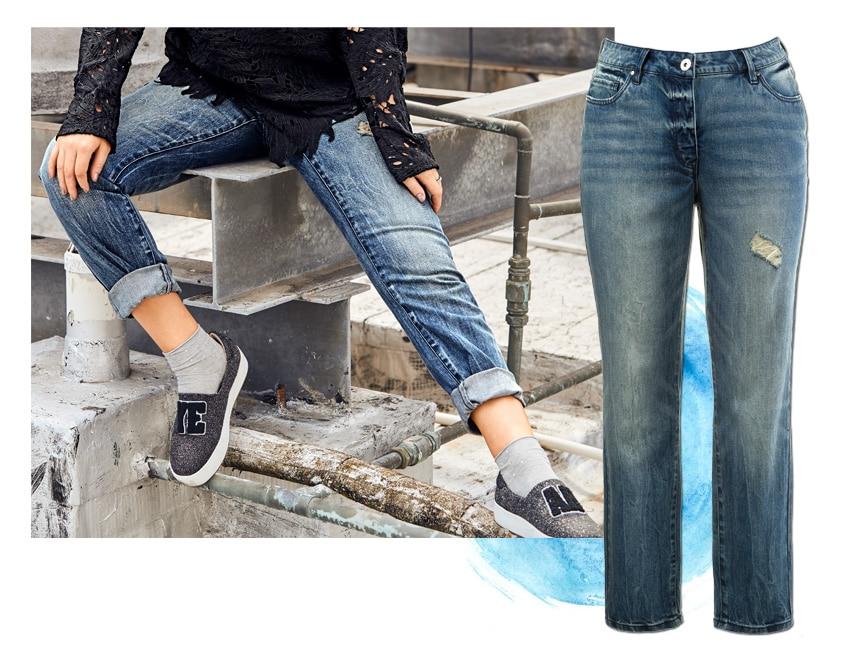 Skinny Jeans in großen Größen
