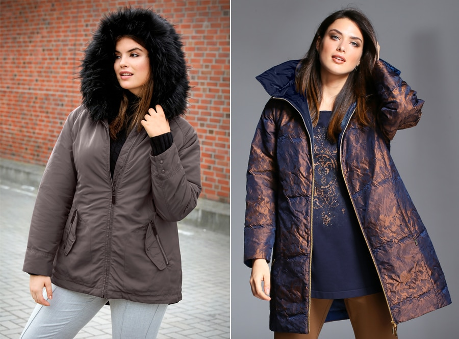 Jacken für mollige Frauen