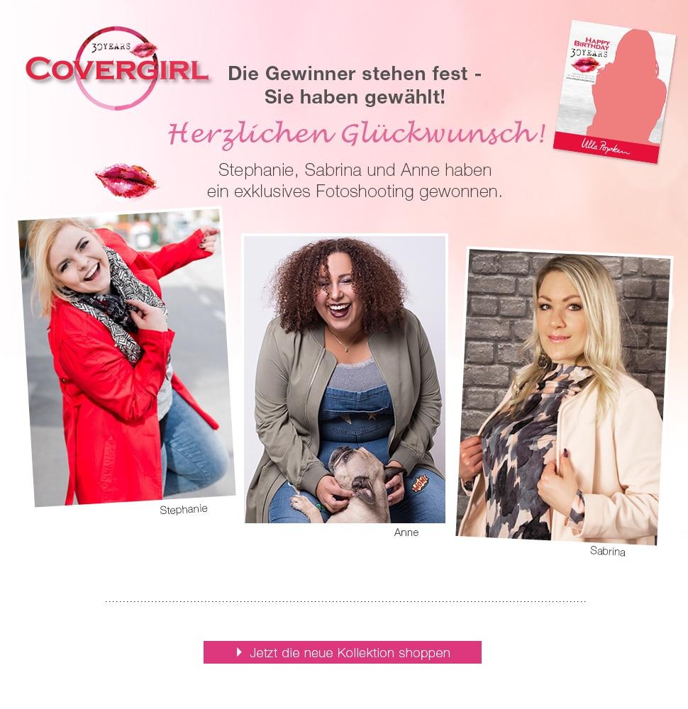 Covergirl Gewinnerin 2017 Ulla Popken