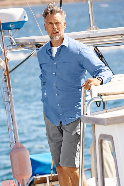 Hemd zur Bermuda