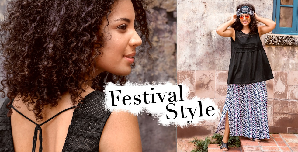 Festival Look in großen Größen