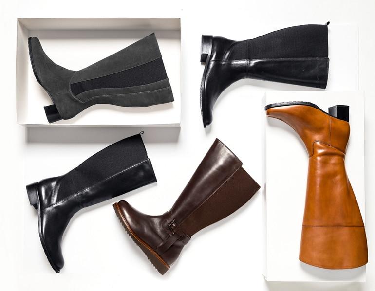 Schaftweite für Stiefel richtig messen