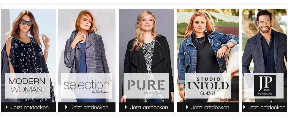 Entdecken Sie unsere vielfältige Markenauswahl von Ulla Popken