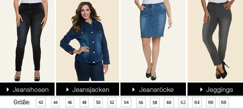 jeansrock für mollige Waiblingen