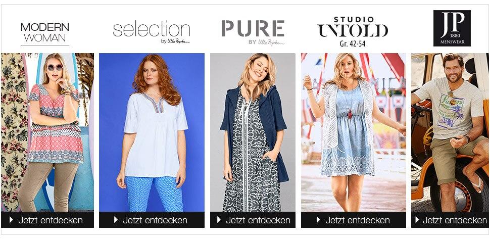 Entdecken Sie die vielfältigen Marken von Ulla Popken